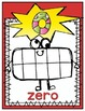 Super Hero Number Posters {0-20}
