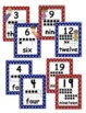 Super Hero Number Posters 0-30 with numeral, ten frame, & word
