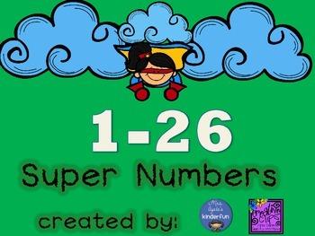 Super Hero Numbers