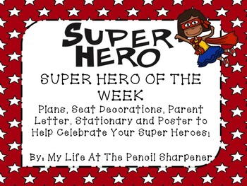 Super Hero Of The Week Pack - Star of the Week