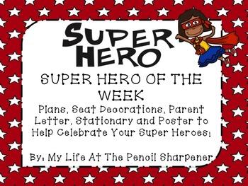 Super Hero Of The Week Pack - Star of the Week