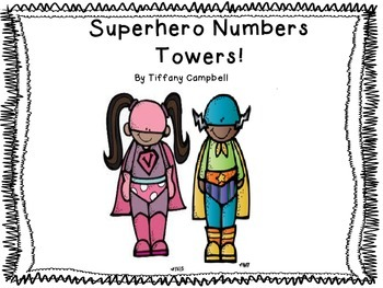 Super Hero One to One Correspondence
