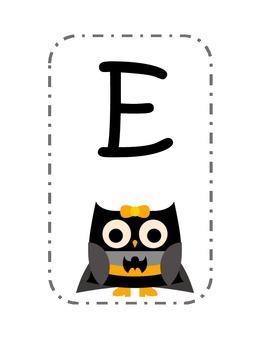Super Hero Owl Welcome Sign