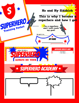 Super Hero Packet