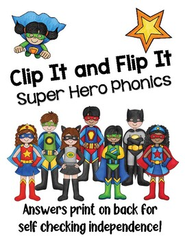 Super Hero Phonics: Lowercase Letters