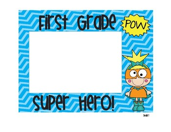 Super Hero Photo Frames