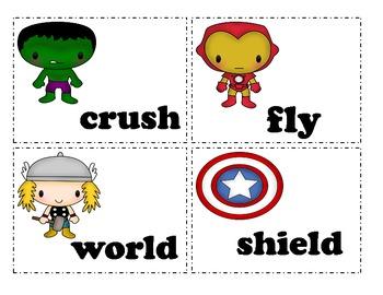 Super Hero Plurals