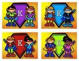 Super Hero Postcard ~ Blank ~ Kindergarten