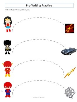 Super Hero PreK and Kinder PACK 100+ PAGES and GAMES
