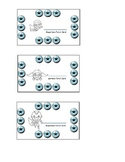 Super Hero Punch Cards