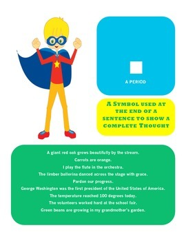 Super Hero Punctuation