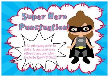 Super Hero Punctuation