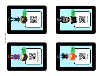 Super Hero QR Codes