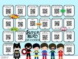 Super Hero QR Codes