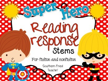Reading Response Stems