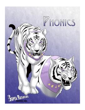 Super Hero Reading Strategy Anchor Chart (Phonics)- Comic