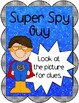 Super Hero Reading Strategy Posters