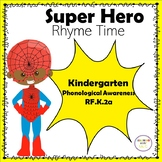Super Hero Rhyme Time