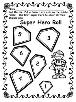 Super Hero Roll