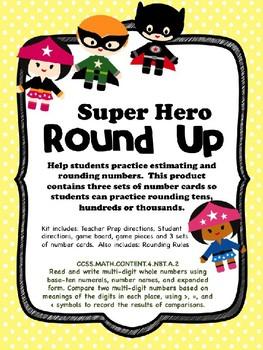 Super Hero Round Up
