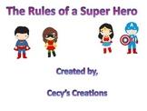 Super Hero Rules