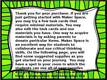 Super Hero STEM Maker Space
