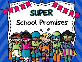 Super Hero School Promises