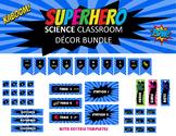 Super Hero Science Classroom Decor SET
