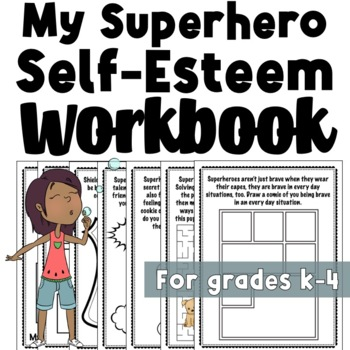 Super Hero Self-Esteem Activity Packet