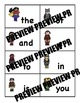 Super Hero Sight Word Trading Cards for Fluency with Fry's First 25 words