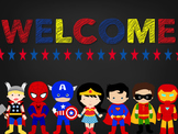 Super Hero Signs for your Classroom
