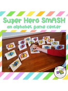 Super Hero Smash - Alphabet Game Center