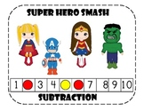 Super Hero Smash Subtraction