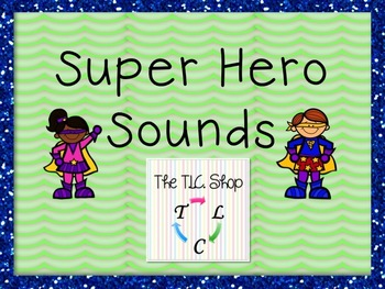 Super Hero Sounds - Classroom PowerPoint Game