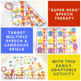 """Super Hero Speech Therapy"": /ɚ/"