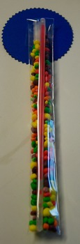 Super Hero Sticks-Open House/Birthdays/Halloween  Nerds & Glow stick!(Set of 12)