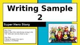 Super Hero Story Template