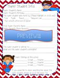 Super Hero Student Info Sheet