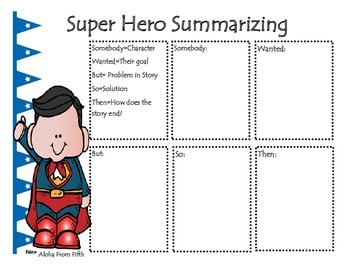 Super Hero Summarizing