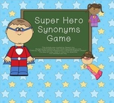 Super Hero Synonym Game