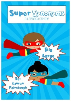 Super Hero Synonyms