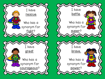 Super Hero Synonyms