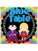 Super Hero Table Signs *glittery rainbow*