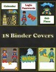Super Hero Teacher Binder Covers ONLY