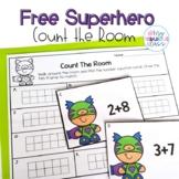 Super Hero Ten Frame