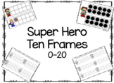 Super Hero Ten Frames