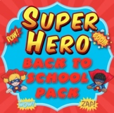Back to School - Super Hero