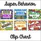 Clip Chart Super Hero Theme - Editable