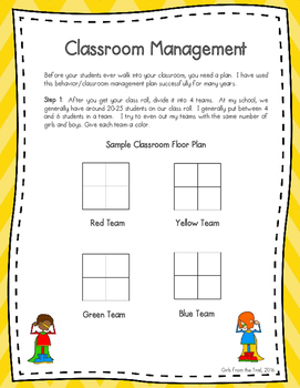 Super Hero Theme Classroom/Behavior Management