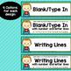 Superhero Theme Classroom Decor Editable Nameplates and Name Tags